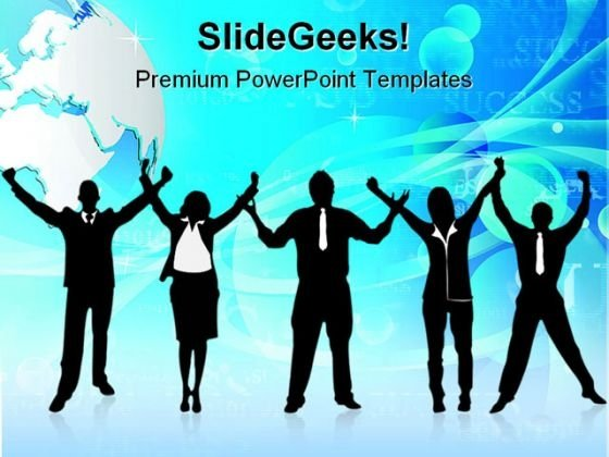 Business Success People PowerPoint Templates And PowerPoint Backgrounds 0711