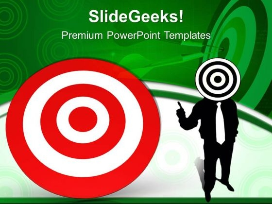 Business Targets Success PowerPoint Templates And PowerPoint Themes 0612