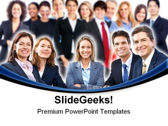 Business Team01 Success PowerPoint Templates And PowerPoint Backgrounds 0711