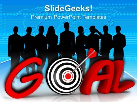 Business Team Achieved Goals And Target PowerPoint Templates Ppt Backgrounds For Slides 0513