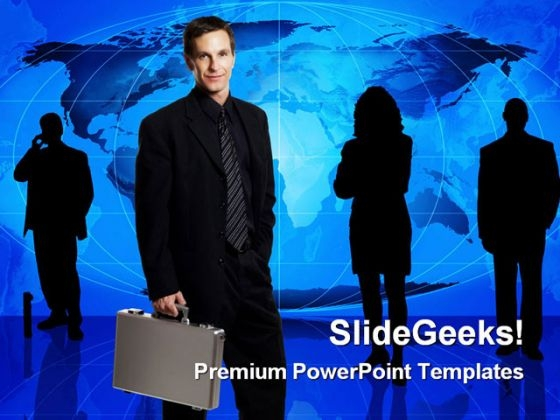 Business Team Global PowerPoint Templates And PowerPoint Backgrounds 0311