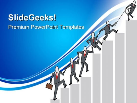 Business Teamwork Communication PowerPoint Themes And PowerPoint Slides 0611