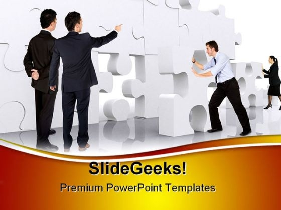 Business Teamwork Leadership PowerPoint Templates And PowerPoint Backgrounds 0511