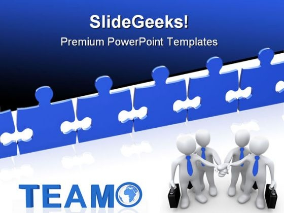 Business Teamwork Success PowerPoint Templates And PowerPoint Backgrounds 0611