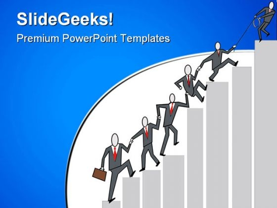 Business Teamwork Success PowerPoint Templates And PowerPoint ...