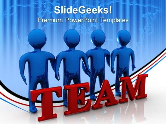 Business Teamwork Success PowerPoint Templates And PowerPoint Themes 0612