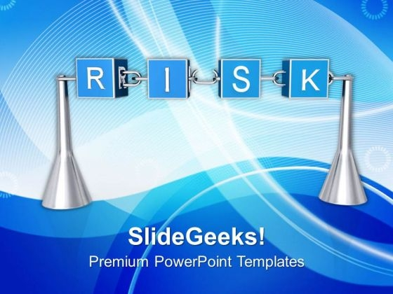Business Their Are Lot Of Financial Risks PowerPoint Templates Ppt Backgrounds For Slides 0513