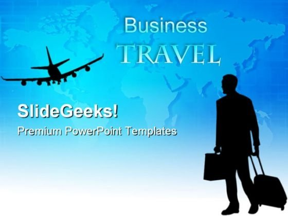 Business Travel Global PowerPoint Themes And PowerPoint Slides 0611