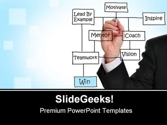 Business Win Success PowerPoint Templates And PowerPoint Backgrounds 0611