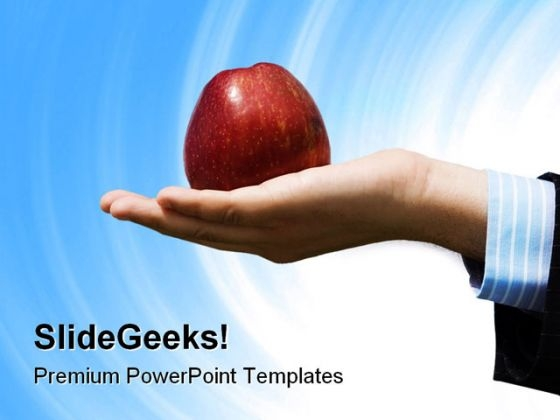 Businessman Temptation People PowerPoint Templates And PowerPoint Backgrounds 1011