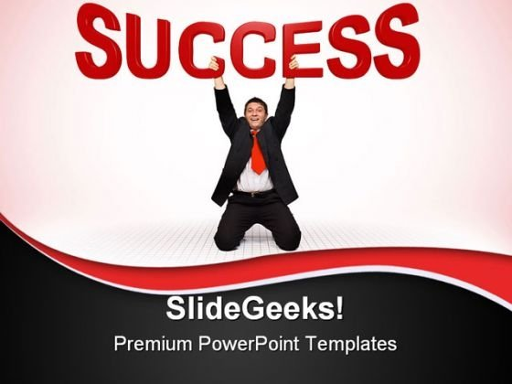 Businessmen Success PowerPoint Templates And PowerPoint Backgrounds 0411