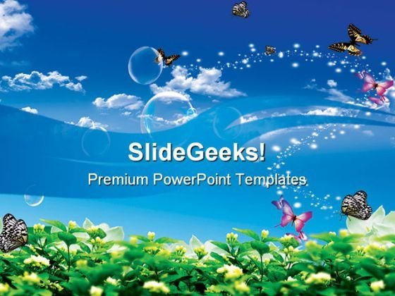 Butterfly Powerpoint Templates, Slides And Graphics