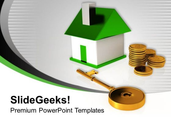 Buying A Home And Key Finance PowerPoint Templates Ppt Backgrounds For Slides 1212