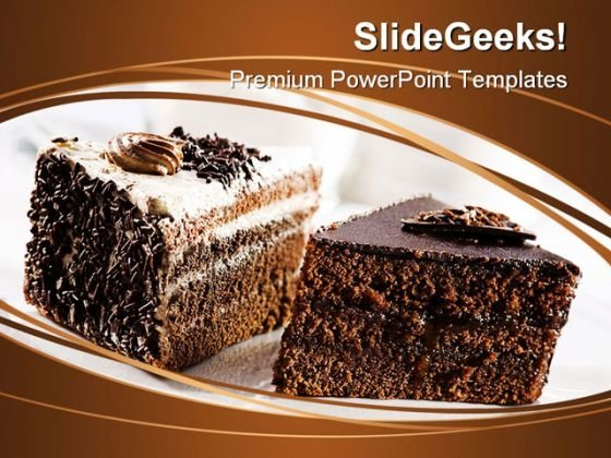 Cake Dessert Food PowerPoint Themes And PowerPoint Slides 0211