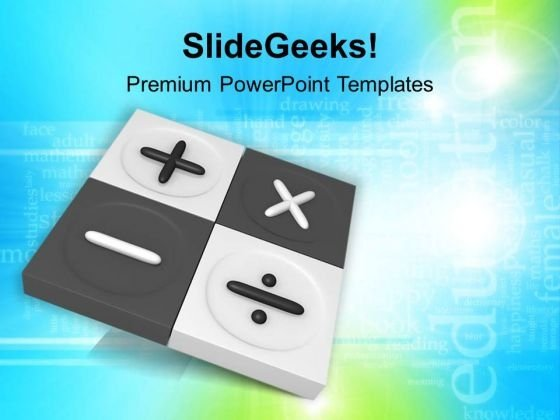 Calculator And Calculations Glossy Icon PowerPoint Templates Ppt Backgrounds For Slides 0413