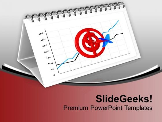 Calendar Shows Financial Progress Of The Year PowerPoint Templates Ppt Backgrounds For Slides 0713