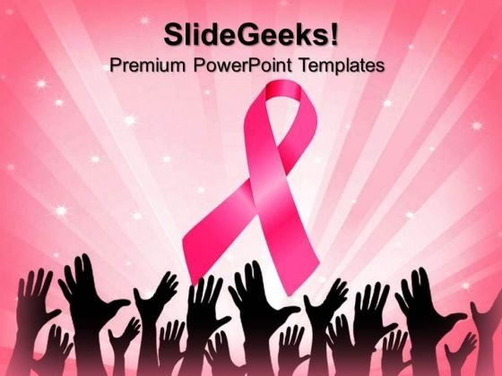 Cancer Ribbon People PowerPoint Templates And PowerPoint Themes 0812