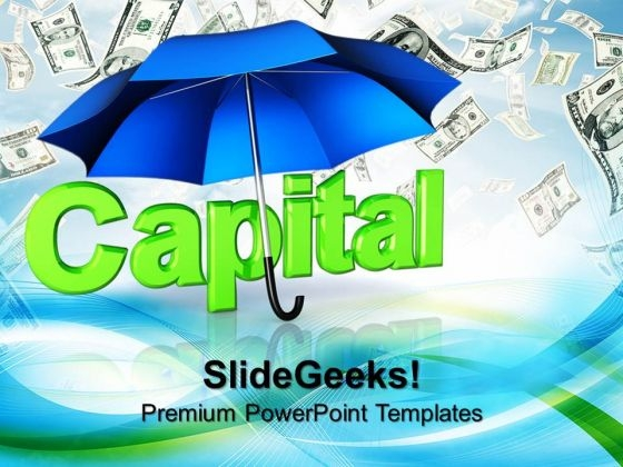 Capital Protected Money PowerPoint Templates And PowerPoint Themes 0912
