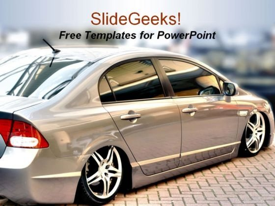 Car Transportation PowerPoint Template
