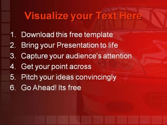 Car Manufacturing PowerPoint Template - PowerPoint Themes