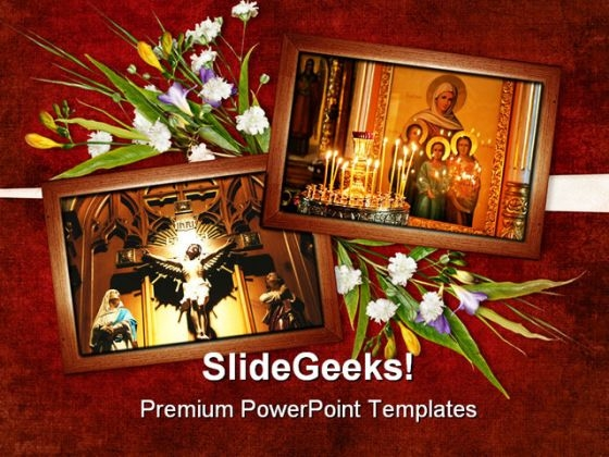 Card For Religion Festival PowerPoint Themes And PowerPoint Slides 0311