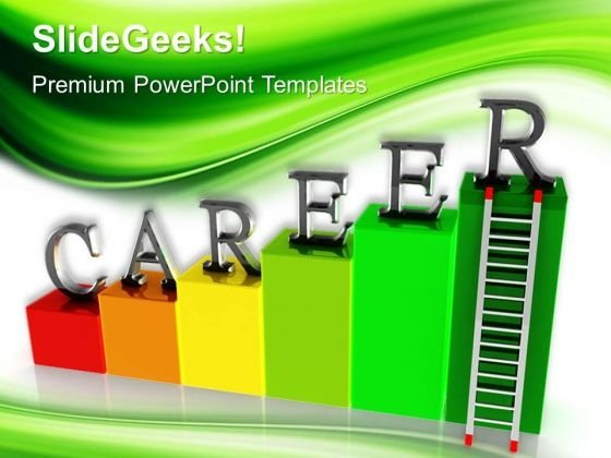 Career Ladder Business PowerPoint Templates And PowerPoint Themes 0512