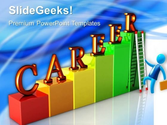 Career Ladders Business PowerPoint Templates And PowerPoint Themes 0612