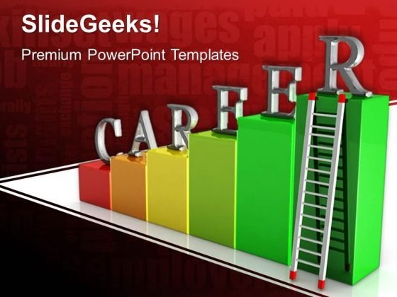 Career Ladders PowerPoint Templates And PowerPoint Themes 0612