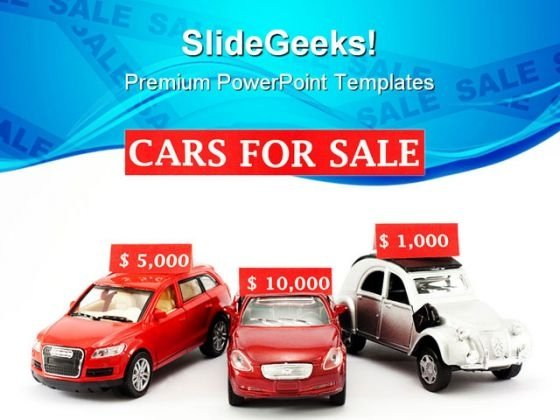 Cars For Sale Marketing PowerPoint Templates And PowerPoint Backgrounds 0511