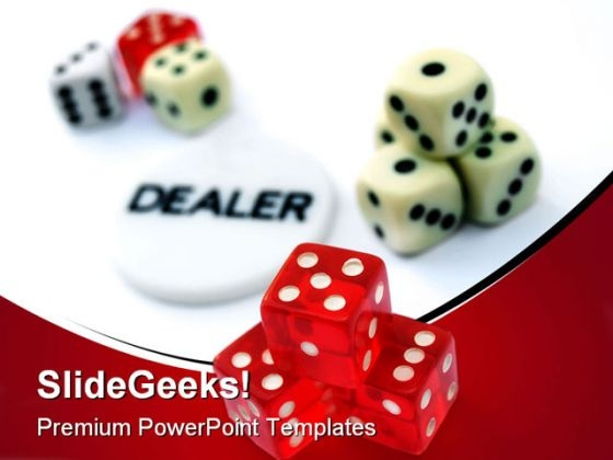 Casino Game Finance PowerPoint Templates And PowerPoint Backgrounds 0211