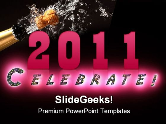 Celebrate Festival PowerPoint Themes And PowerPoint Slides 0411
