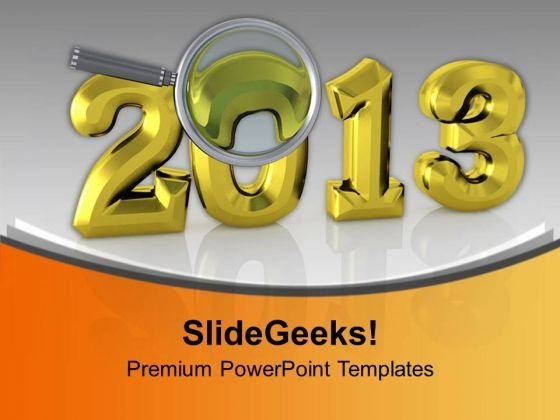 Celebrate This New Year With Happiness PowerPoint Templates Ppt Backgrounds For Slides 0513