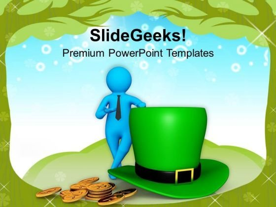 Celebration Of Irishness St Patricks Day PowerPoint Templates Ppt Backgrounds For Slides 0313