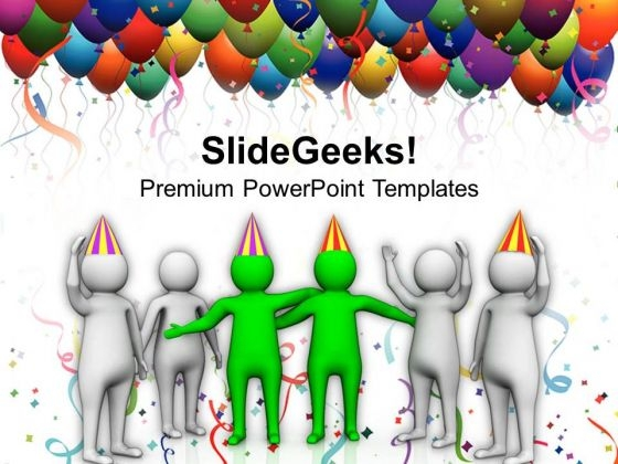 Celebration On Success Of Business Team PowerPoint Templates Ppt Backgrounds For Slides 0813