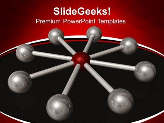 Centralization Business PowerPoint Templates And PowerPoint Themes 0612