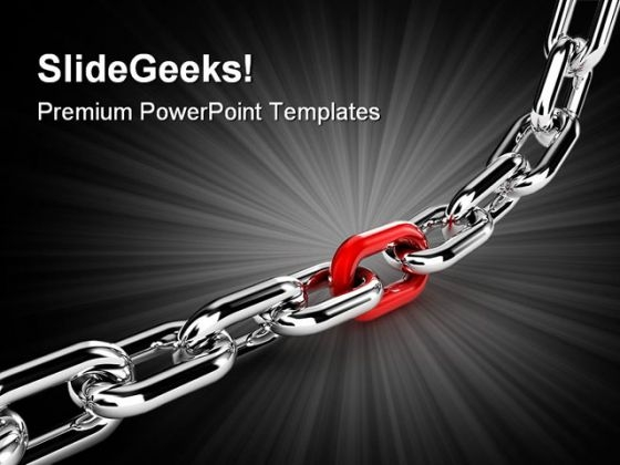 Chain Business PowerPoint Templates And PowerPoint Backgrounds 0211