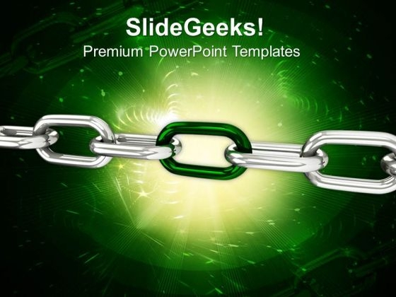 Chain Business Security PowerPoint Templates And PowerPoint Themes 0612