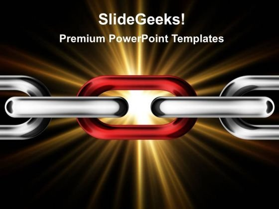 Chain Leadership PowerPoint Templates And PowerPoint Themes 0212