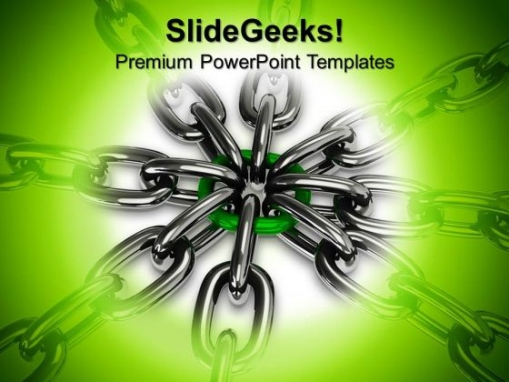 Chain Security PowerPoint Templates And PowerPoint Themes 0612