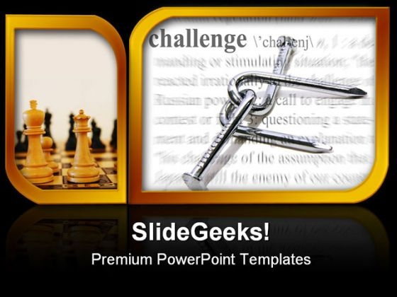 Challenge Theme Business PowerPoint Themes And PowerPoint Slides 0311