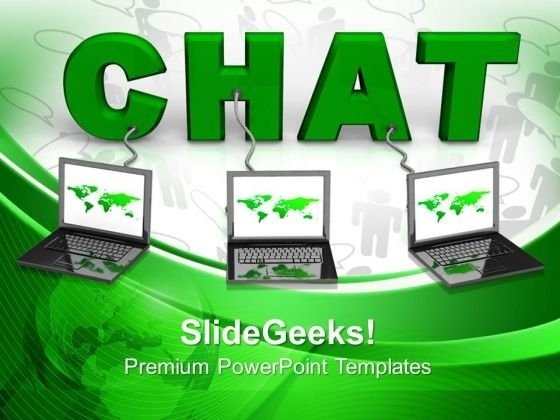 Chat Internet PowerPoint Templates And PowerPoint Themes 0812