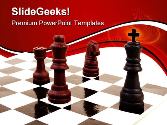 Check Mate Game PowerPoint Templates And PowerPoint Backgrounds 0211