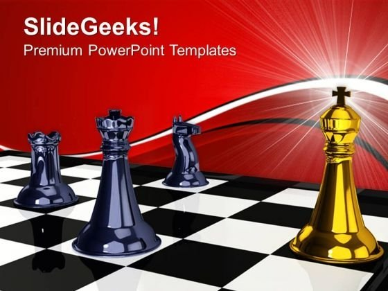 Check Mate Leadership PowerPoint Templates And PowerPoint Themes 0712