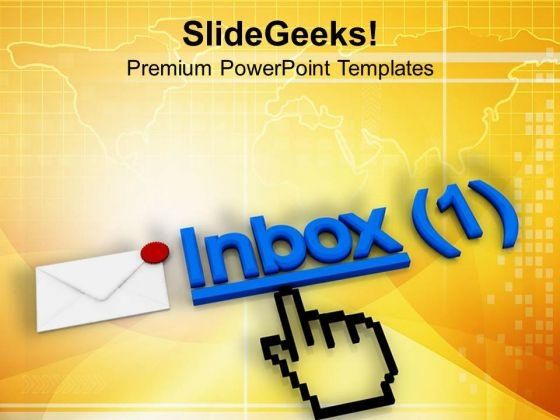 Check Your Inbox Regularly PowerPoint Templates Ppt Backgrounds For Slides 0713