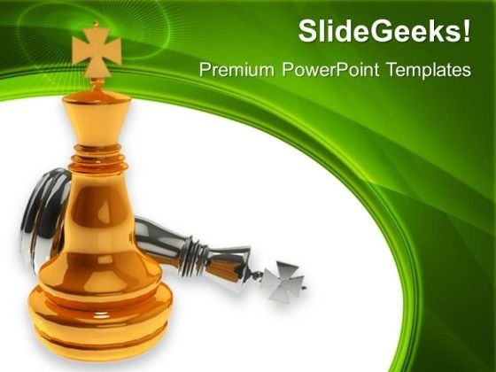 Chess King Winner Success PowerPoint Templates And PowerPoint Themes 0612