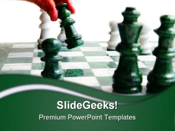Chess Player Move Game PowerPoint Templates And PowerPoint Backgrounds 0211