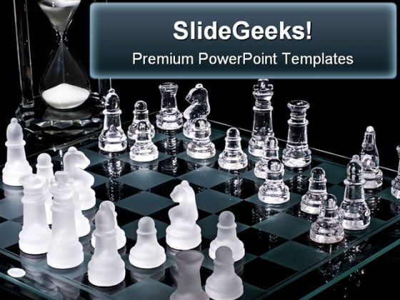 Chess Strategy Sports PowerPoint Background And Template 1210