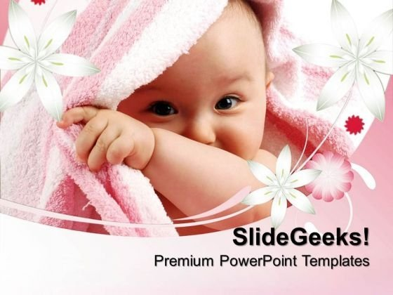 Child Beauty PowerPoint Templates And PowerPoint Themes 0512