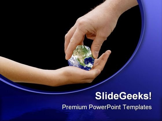 Child Inheritance Globe PowerPoint Templates And PowerPoint Backgrounds 0311