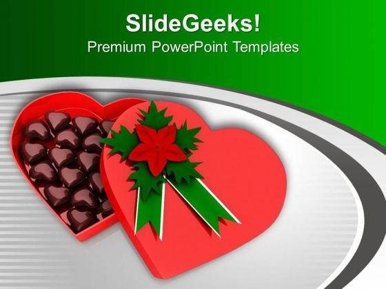 Chocolate Box Is Great Gifinting Idea PowerPoint Templates Ppt Backgrounds For Slides 0713